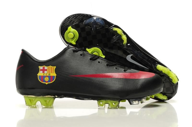 Nike Mercurial Vapor Superfly III 3 FC Barcelona Black Red Football Boots