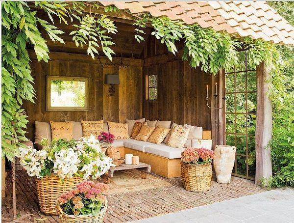 Casa de campo dise o casas de campo casas y casas de for Jardines rusticos campestres