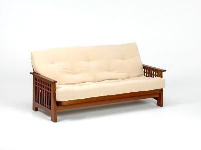 Akino 3 Seat Futon With A Comfortable Mattress Www Futons Direct Co Sofa Bedfuton