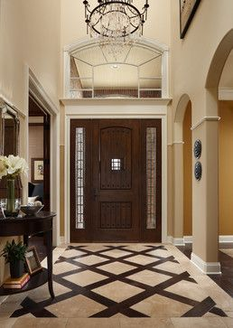 Entry way tile pattern ideas home tile entryway design for Main floor flooring ideas