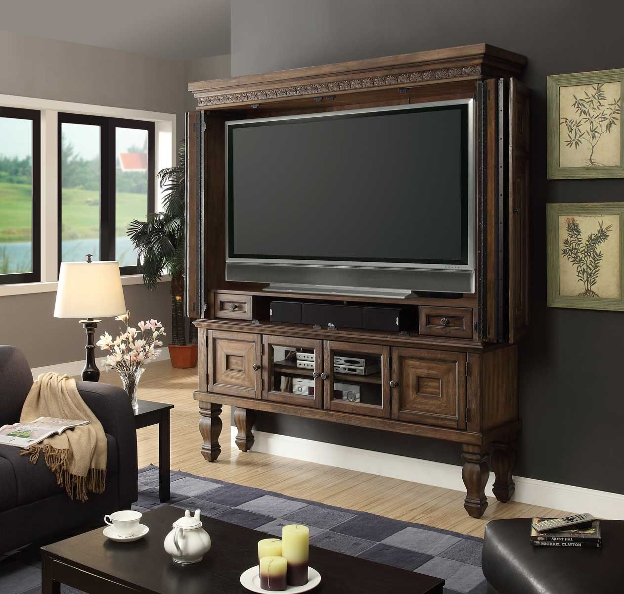 Parker House Aria 60in TV Entertainment Armoire | Parker ...