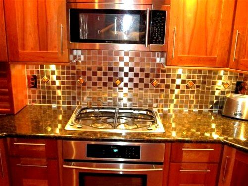 Orange brown yellow gold and more fabulous fall for Red and brown kitchen ideas