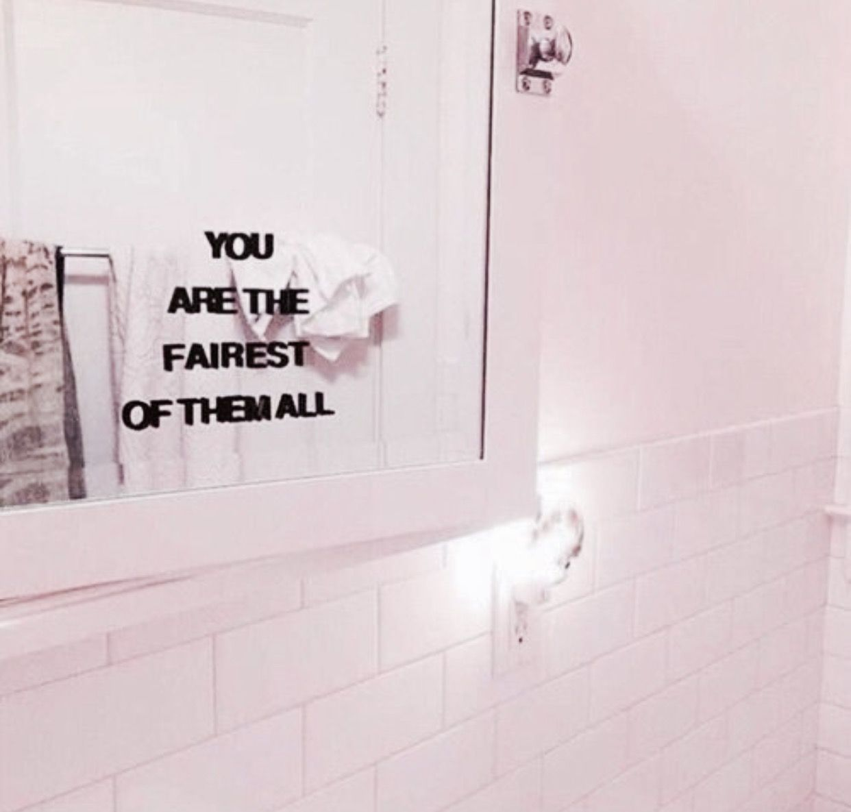 Image On You are the fairest mirror quote