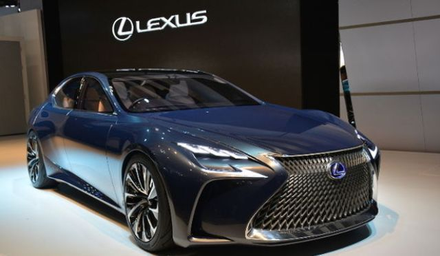 Lexus Ls 500 Sedan Revealed Car News K4car Com Car Lexus Ls Luxury Sedan