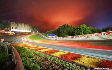 Eau Rouge Race Track Racing Track