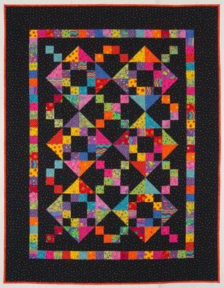 Texas Two-Step: Brights for Lillian by Lynn Roddy Brown, a 100 ... : woodlands quilt guild - Adamdwight.com