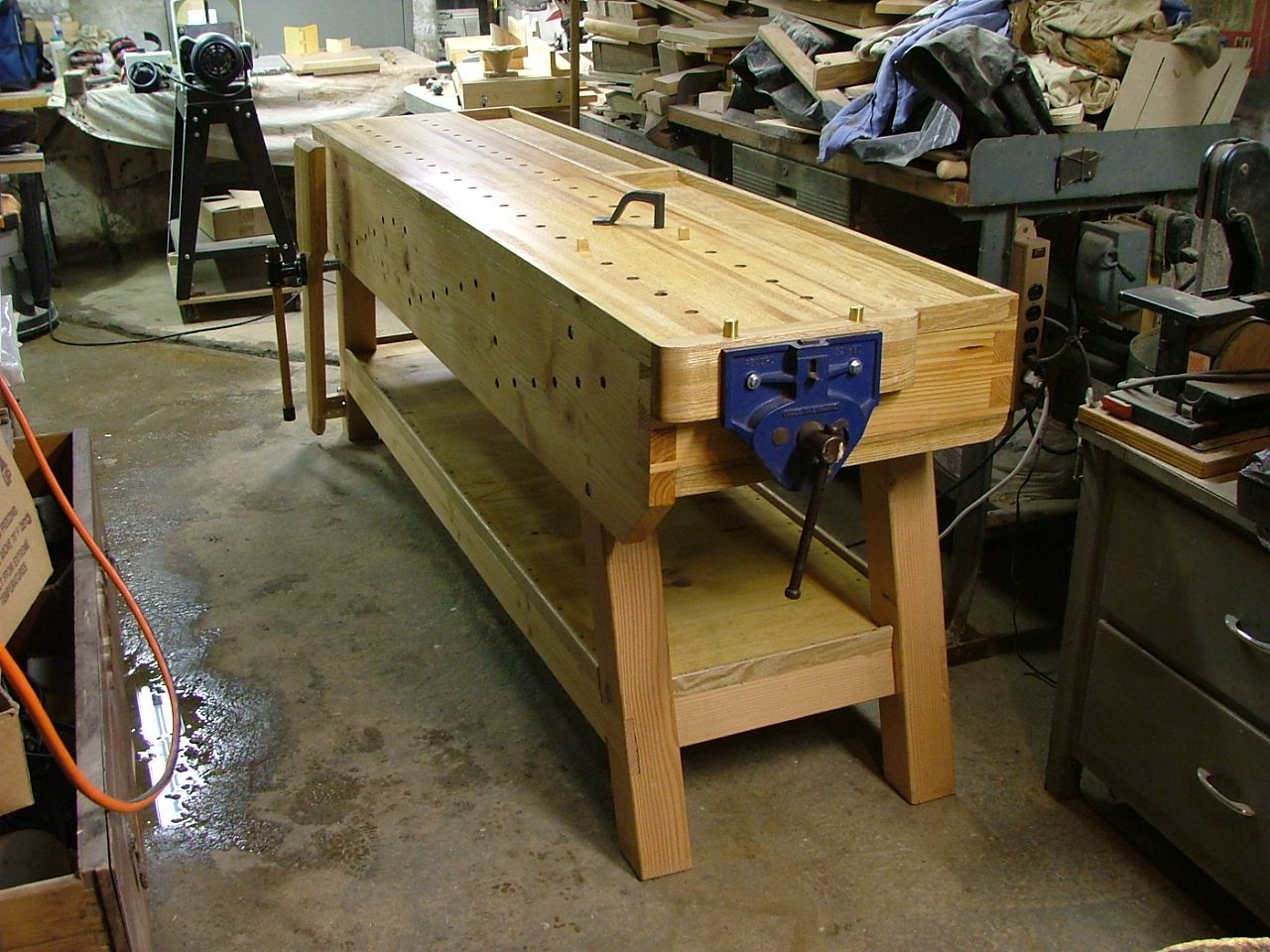 Model Shopbuilt Tail Vice  Woodworking Talk  Woodworkers Forum
