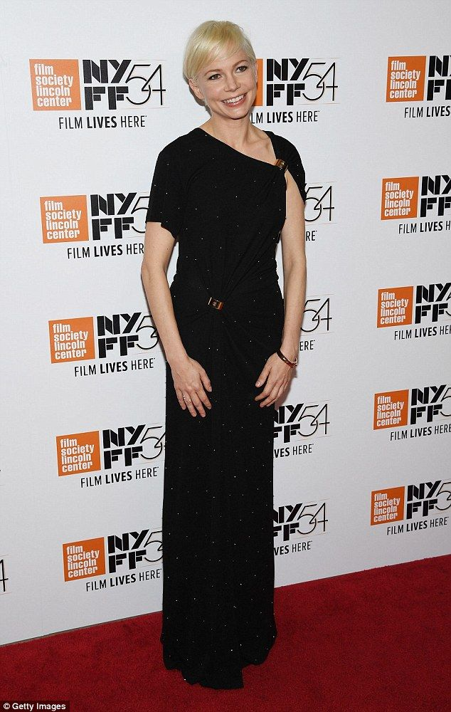 Michelle Williams at The New York Film Festival