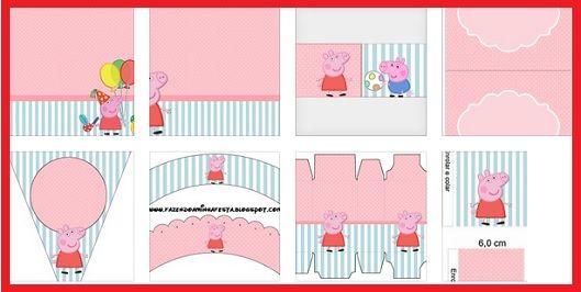 Kit de Peppa Pig para imprimir gratis  Recetas para cocinar