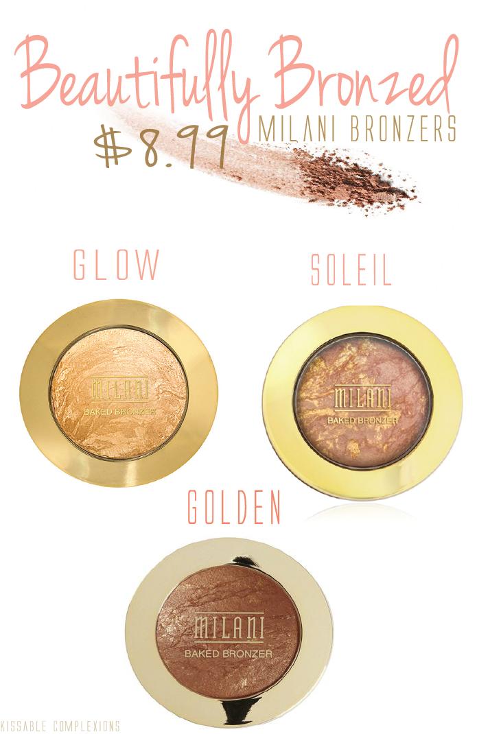 Product Spotlight: Milani Baked Bronzers