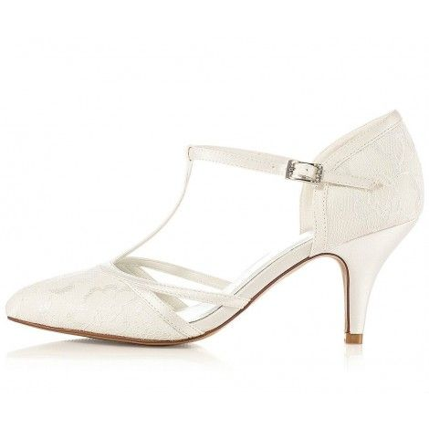 jasmine by g westerleigh vintage lace ivory wedding or occasion shoes