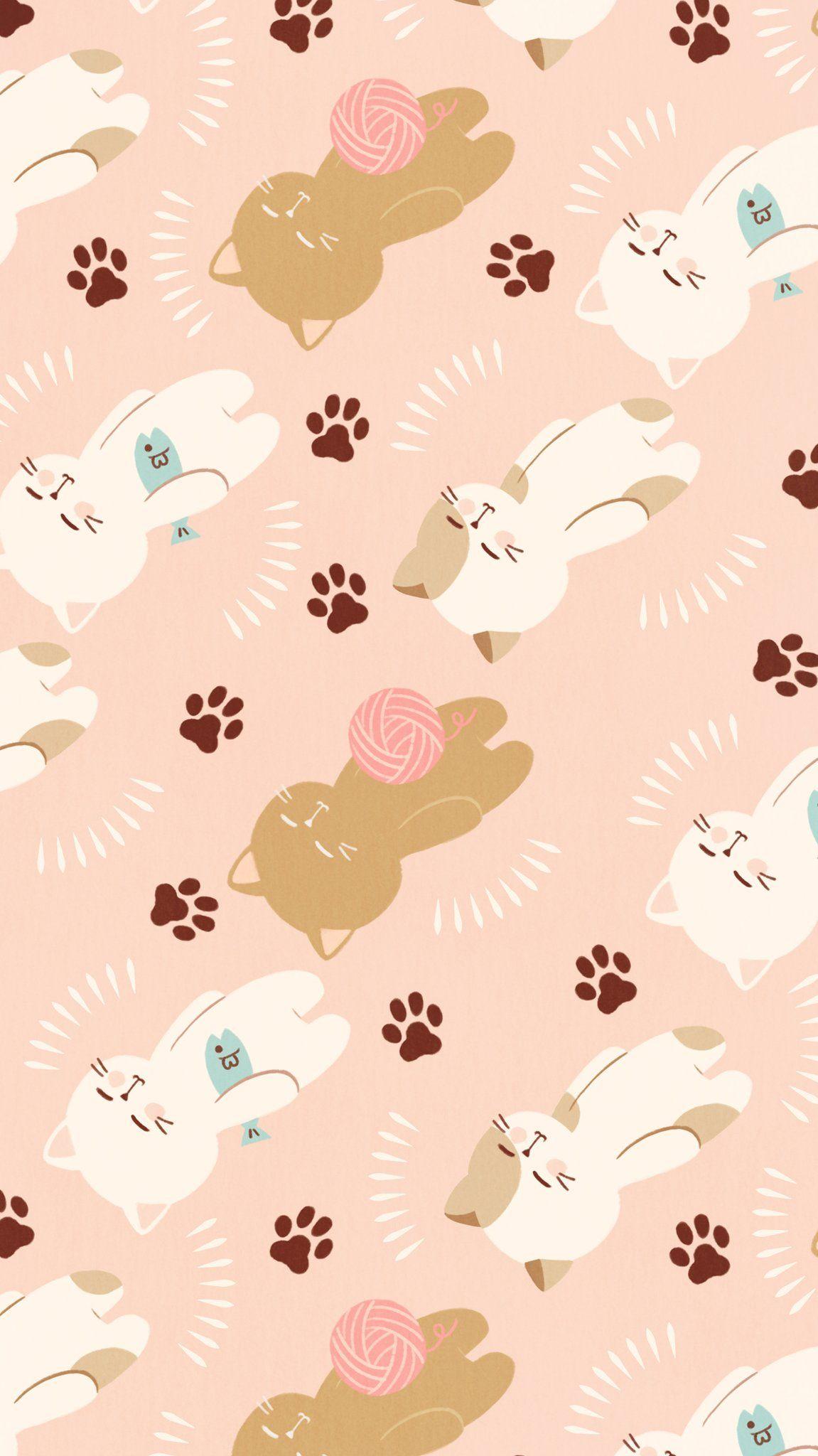 Omiyu みゆき In Cat Phone Wallpaper Cellphone Wallpaper Cute Wallpapers