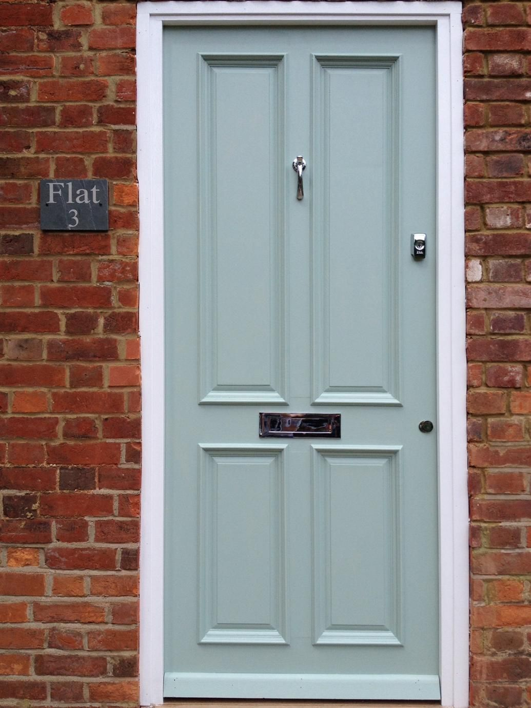 Farrow And Ball Colours Front Door Green Front Doors Painted Front Doors Green Exterior House Colors