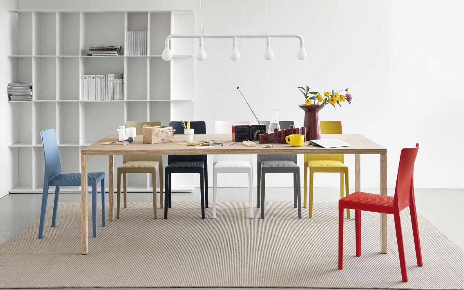 tavoli in legno rettangolari heron wood calligaris cs 4070