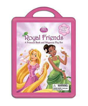 This Royal Friends Hardcover & Magnet Set by Disney is perfect! #zulilyfinds