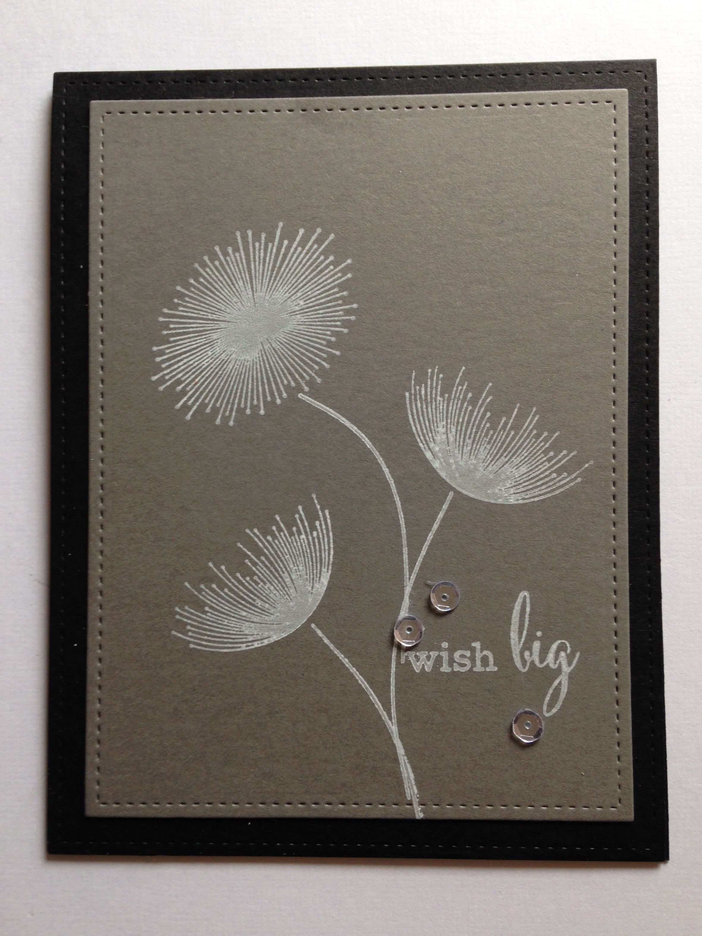 I Made This Birthday Card Using The Clearly Besotted Stamp Set