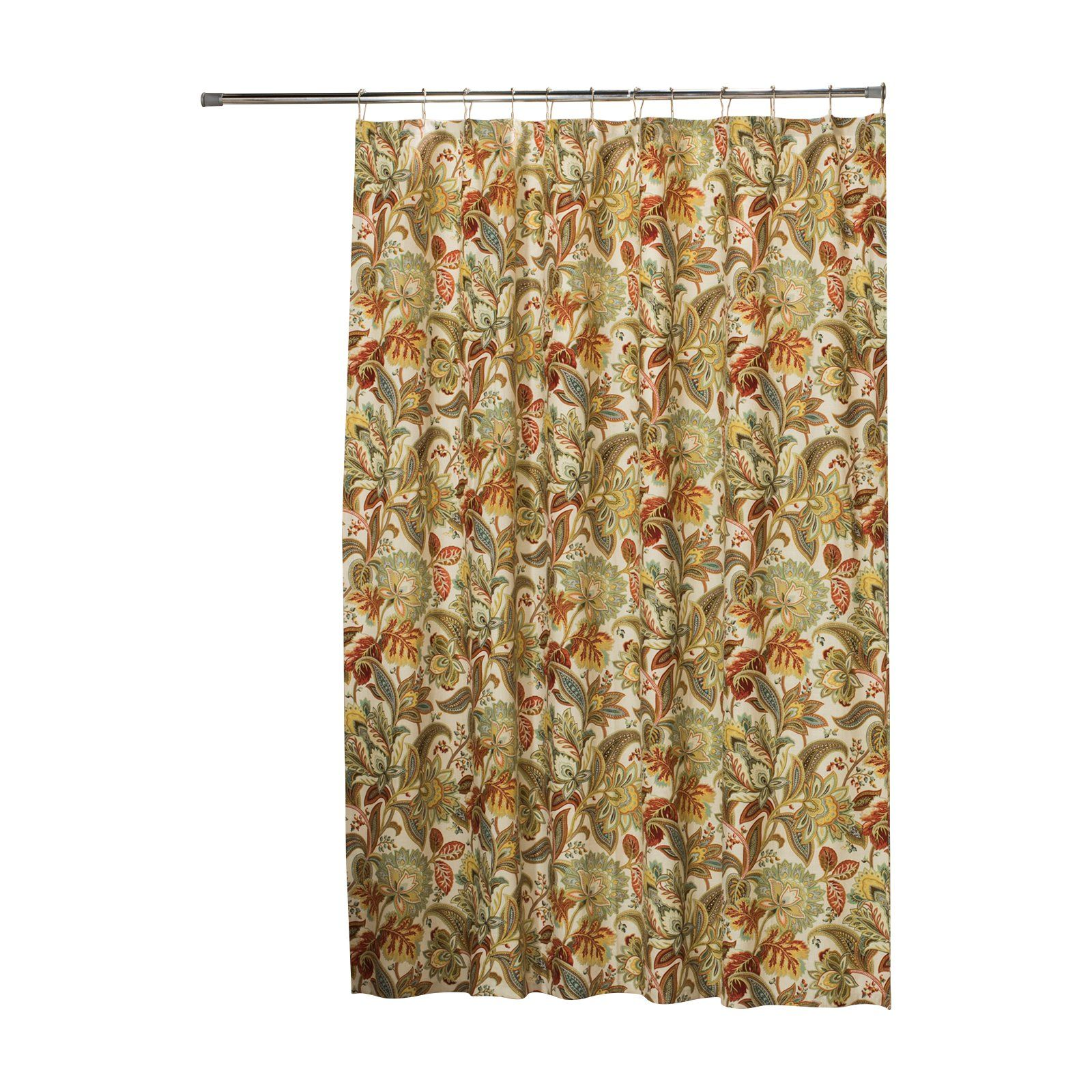 Thomasville At Home Val Dosta Tapestry Linen Extra Long Shower