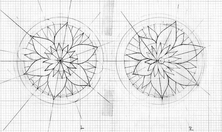 Lotus Mandala Compass Tattoo Yes Tat It Up Mandala Compass