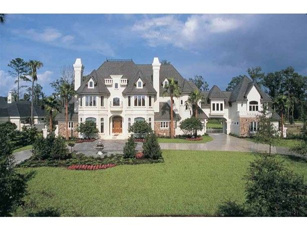 amazing houses - French Country House Plans With Porte Cochere
