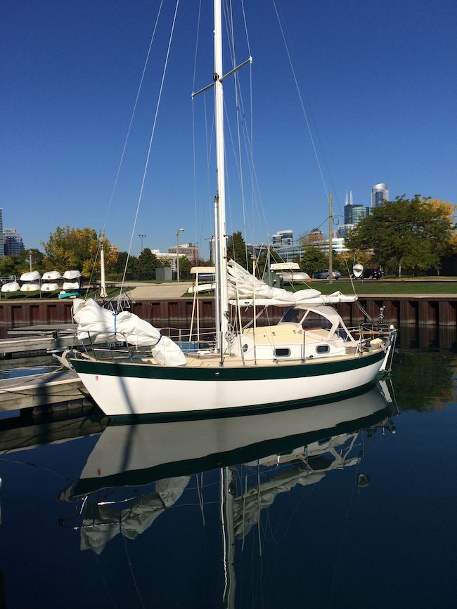 Sailboat - Frances 26 by Morris Yachts and Victoria Yachts designed