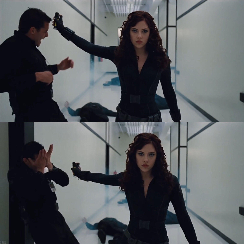 Iron Man 2 Black Widow Vs Hammer Security