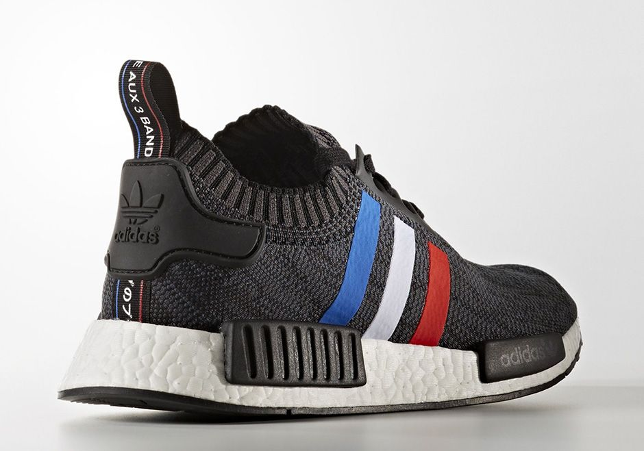 the adidas nmd r1 primeknit is back in a new tri color pack
