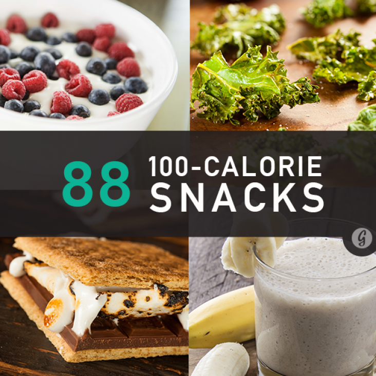 88 Snacks Under 100 Calories