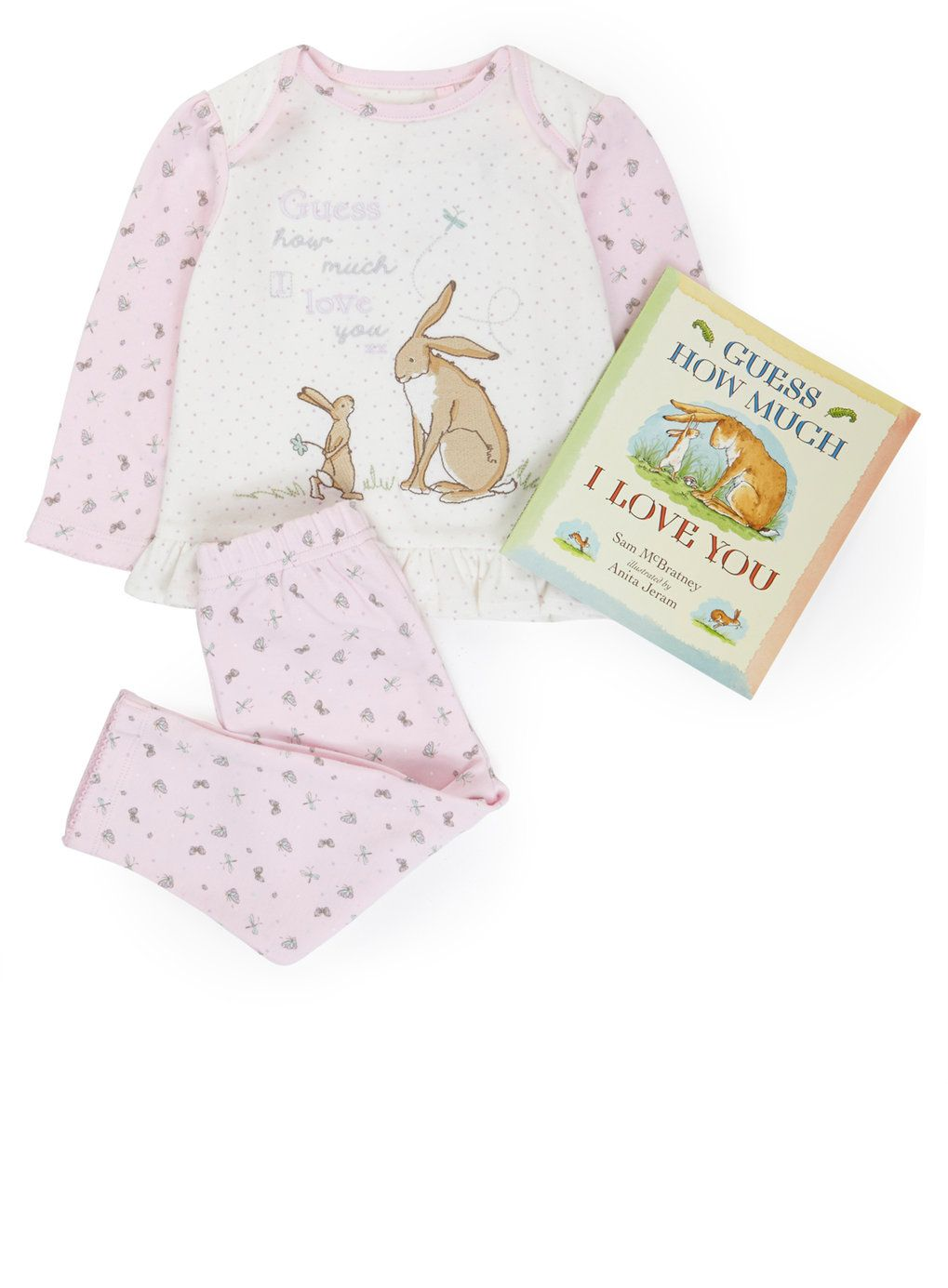 Guess How Much I Love You® Pyjamas with Book, from £15