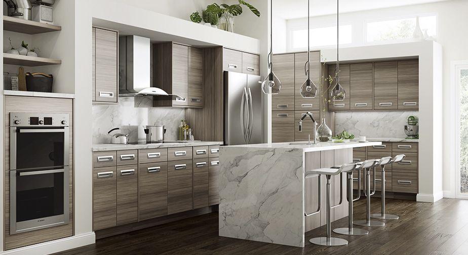 Genoa Platinum | Home Decorators Cabinetry