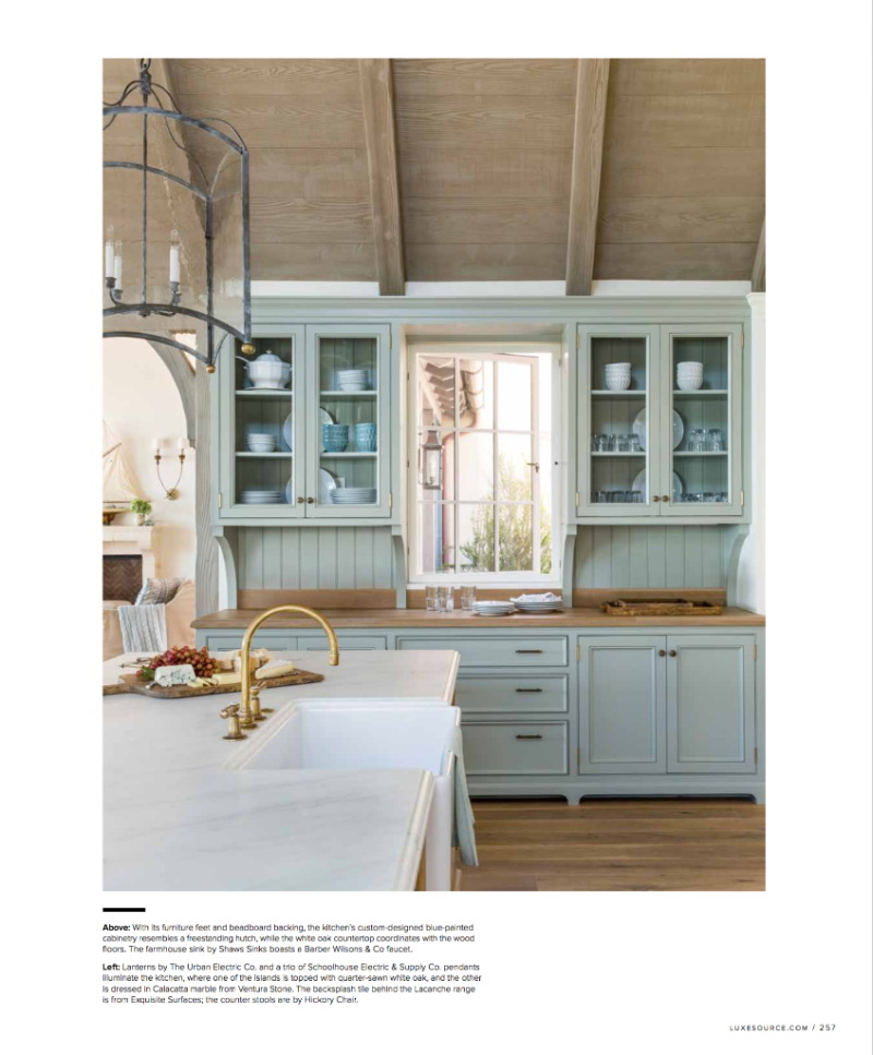A Giannetti Home Design In The May June 2017 Luxe Magazine