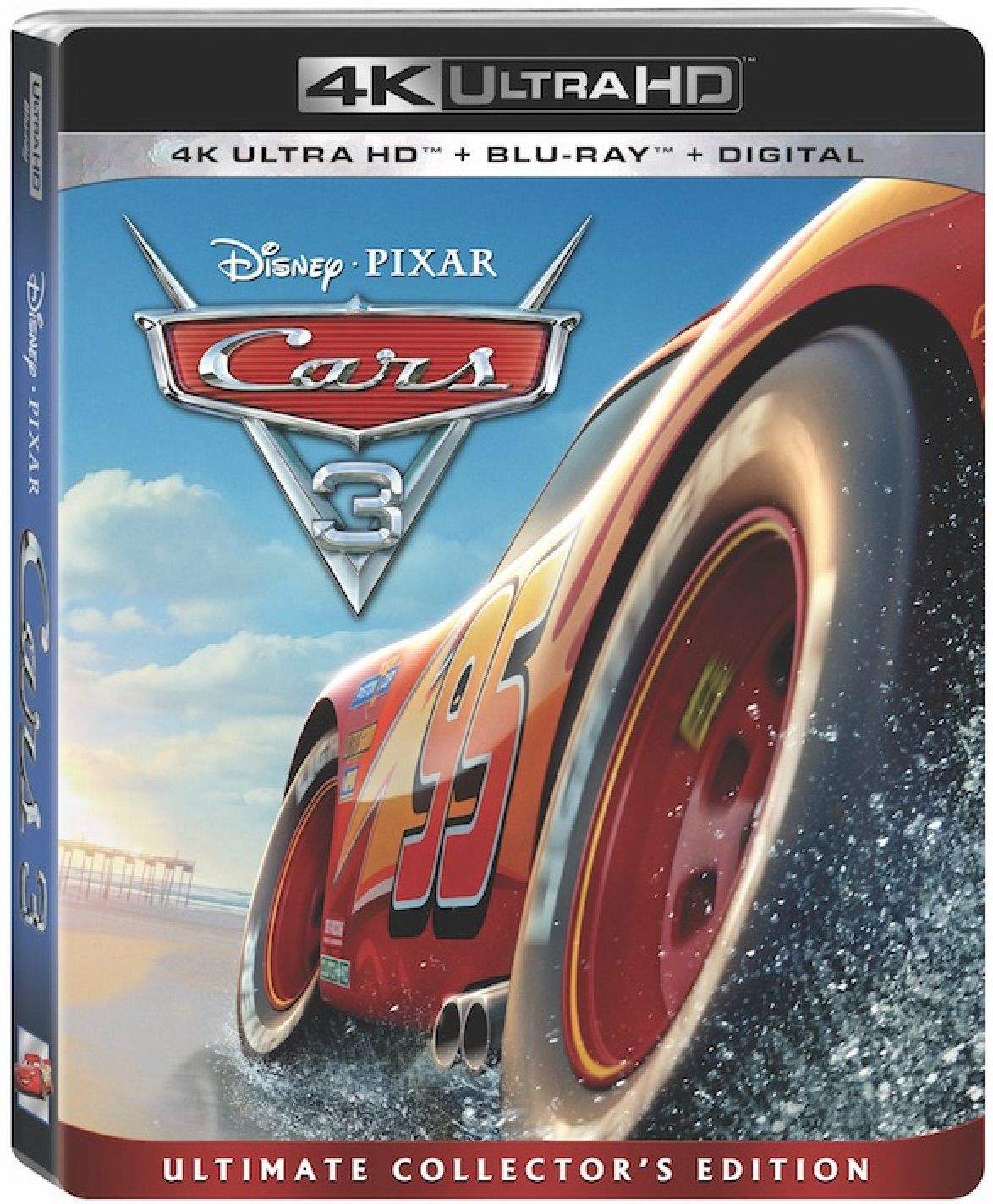 Add Cars 3 Blu Ray Dvd Collection To Your Holiday Shopping List