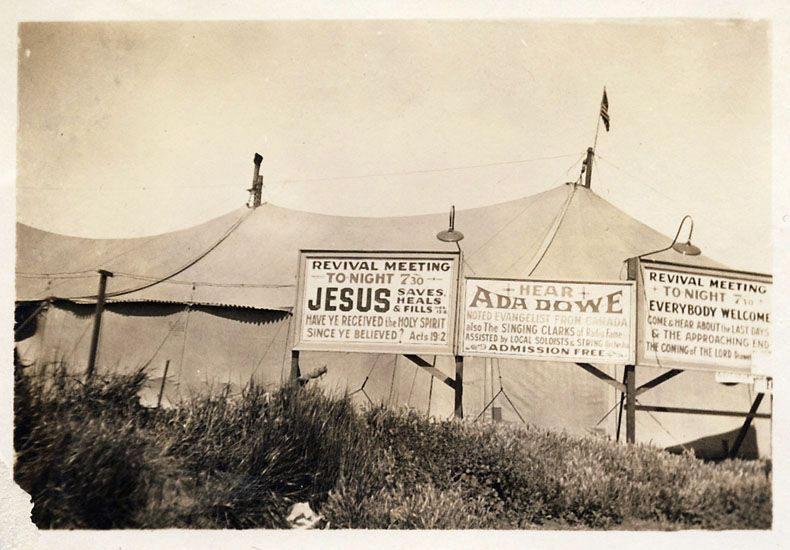 The Ada Dowe Revival Tent & The Ada Dowe Revival Tent | Love Party | Pinterest