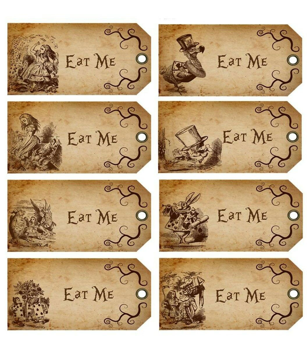Alice In Wonderland 20 Eat Me Drink Me Open Me Take Me Party Tags Decoration Ebay Alice In Wonderland Birthday Alice In Wonderland Tea Party Alice In Wonderland Tea Party Birthday