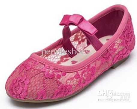 Luxury Style Girls Shoes Pink Color