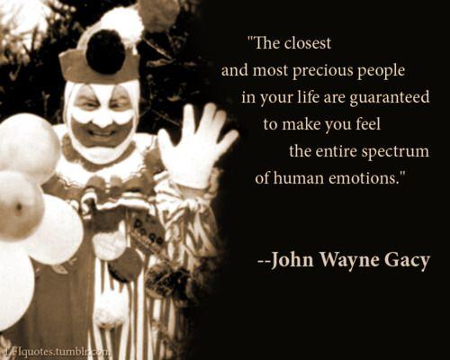 John Wayne Gacy | Quotes | Famous serial killers, John wayne