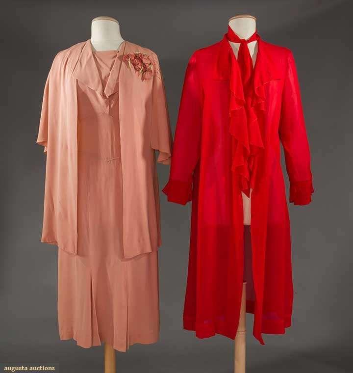Red Chiffon Jacket