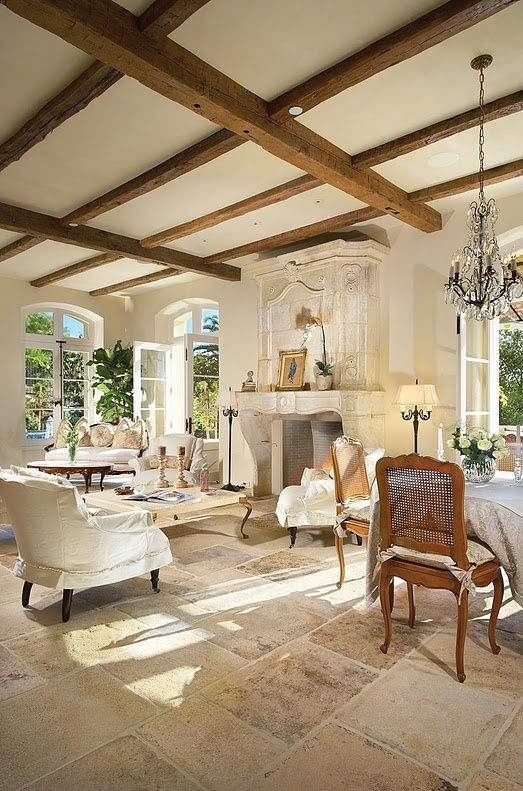34 Adorable And Romantic Provence Living Rooms French Country