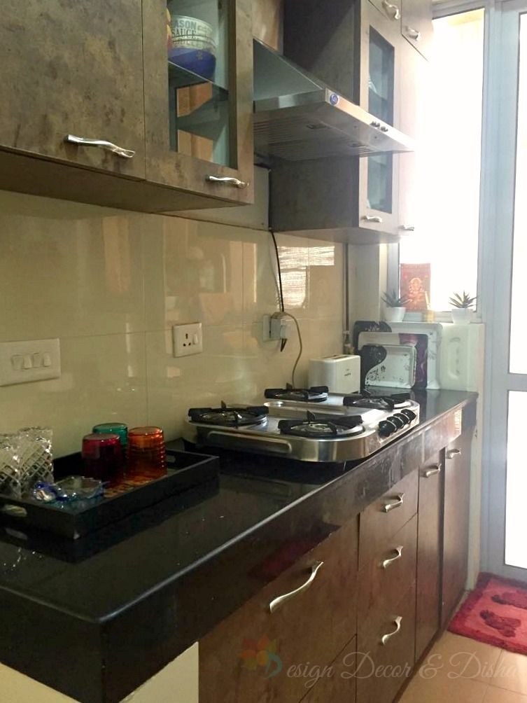 Home Tour Rashmi Chandra Kitchen Modular Modular Kitchen