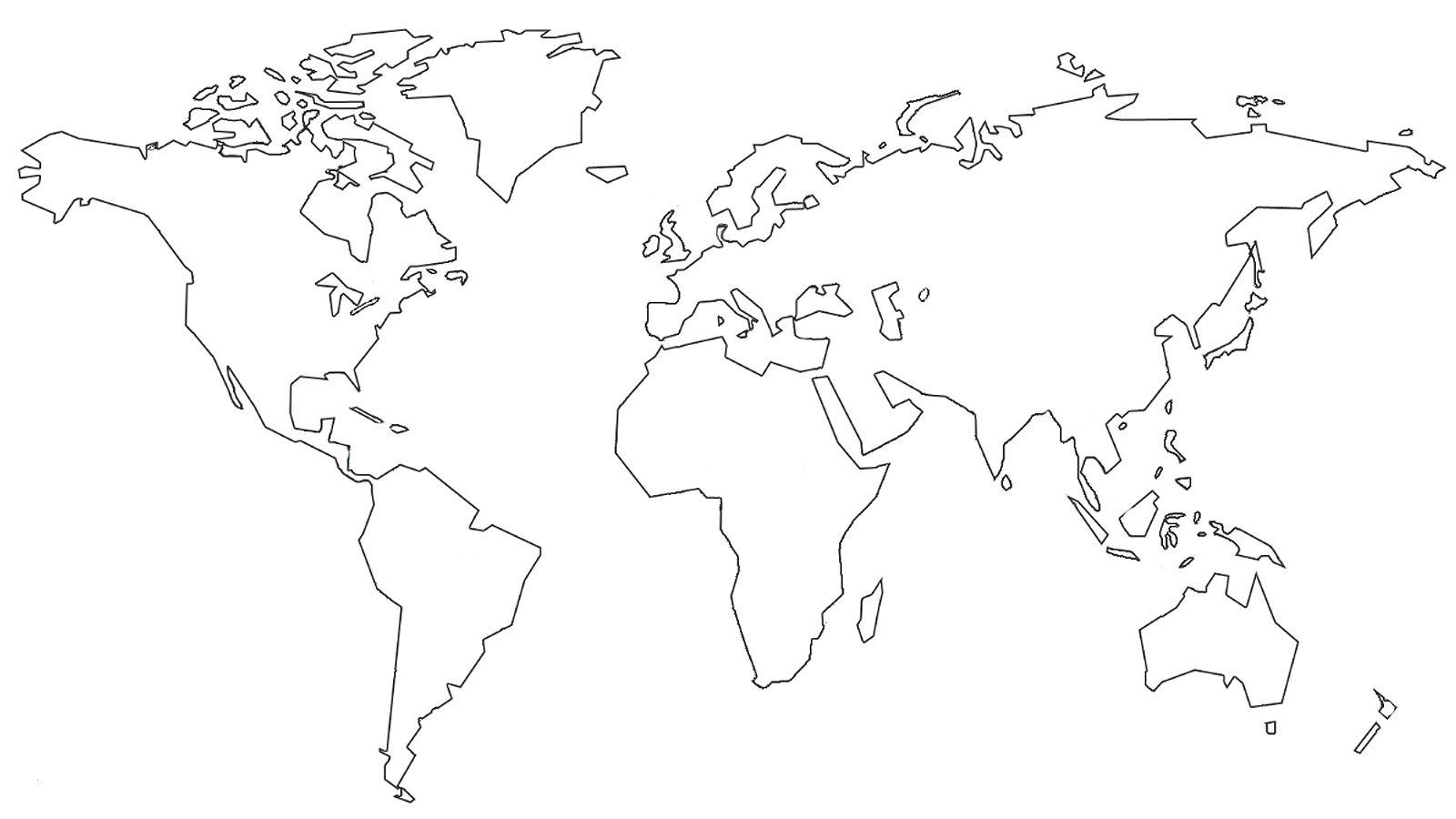 Ausmalbilder Weltkarte Best Weltkarte Schwarz Weiß