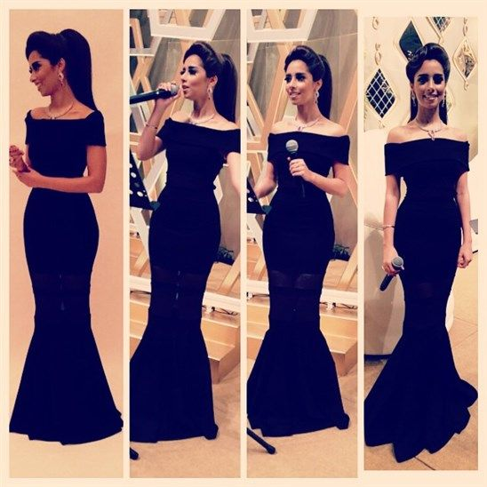 فساتين قصيرة منفوشة اسود Black Off Shoulder Dress Dresses Strapless Dress Formal