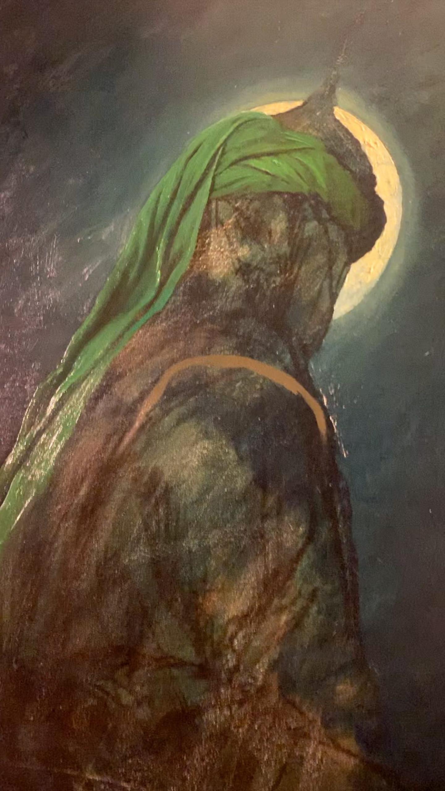 لوحة الرسام الإيراني حسن روح الأمين للإمام أبي الفضل العباس بن علي بن أبي طالب Islamic Paintings Islamic Artwork Islamic Art Calligraphy