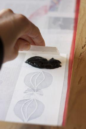 Screen Printing Tutorial – Tutorial Serigrafia » Jo's Loft
