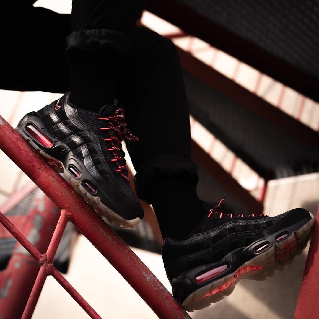 size 40 0457c 2ac14 Nike Air Max 95 « Black Infrared » https   insidesneakers.com