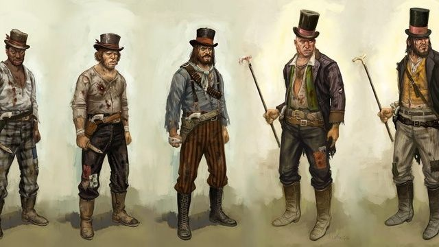 The Dusty Concept Art of Red Dead Redemption | My geekery is out of