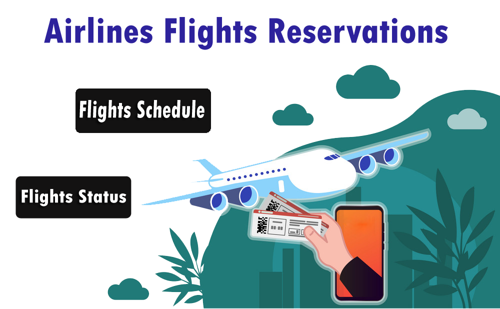 Airlines Flights Reservations Airline Booking Flight Reservation Airline Flights