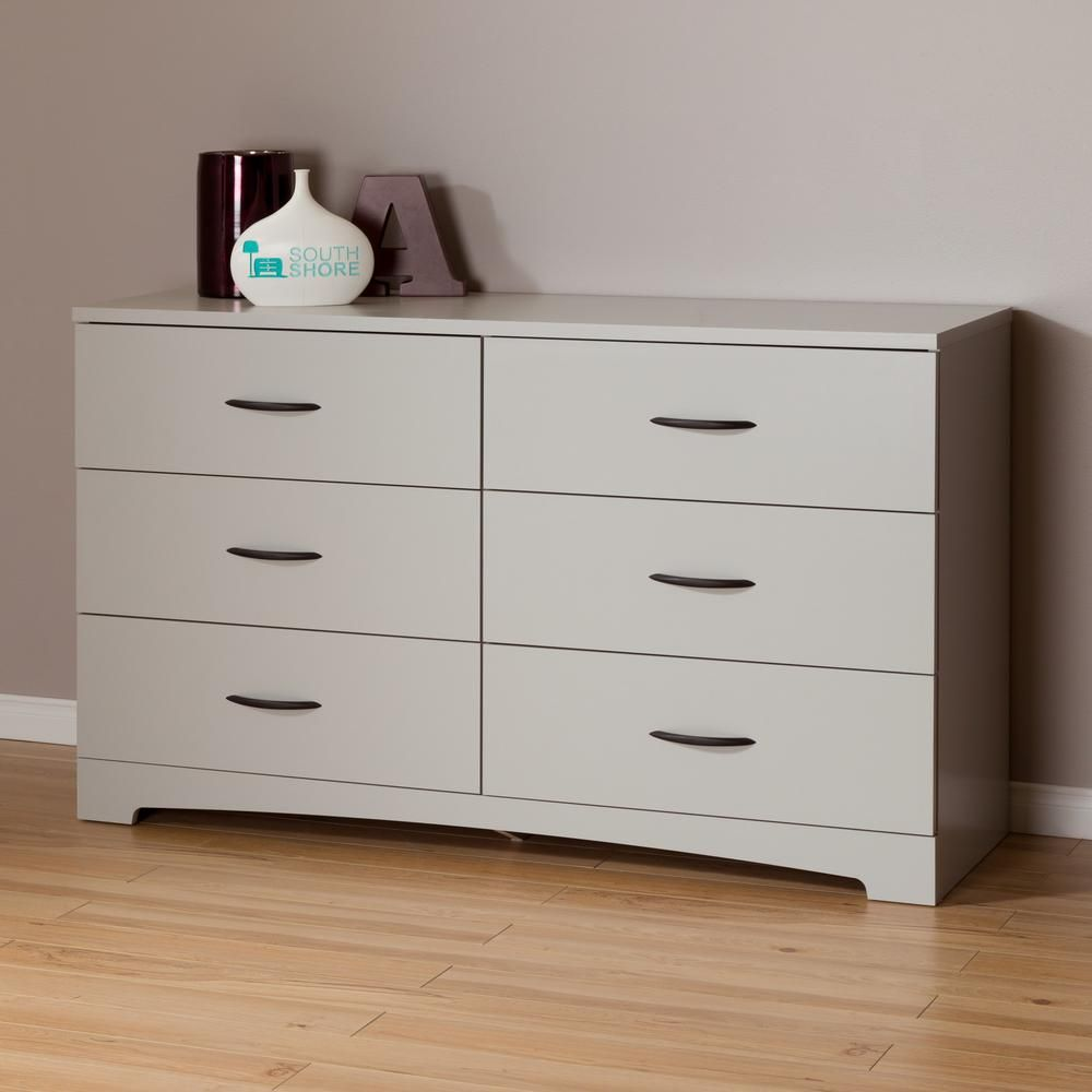 Step one drawer soft gray dresser gray dresser dresser and drawers
