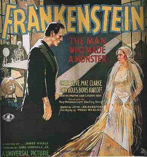 1931 Stone litho Frankenstein 6-sheet   Most valuable film poster in the world?