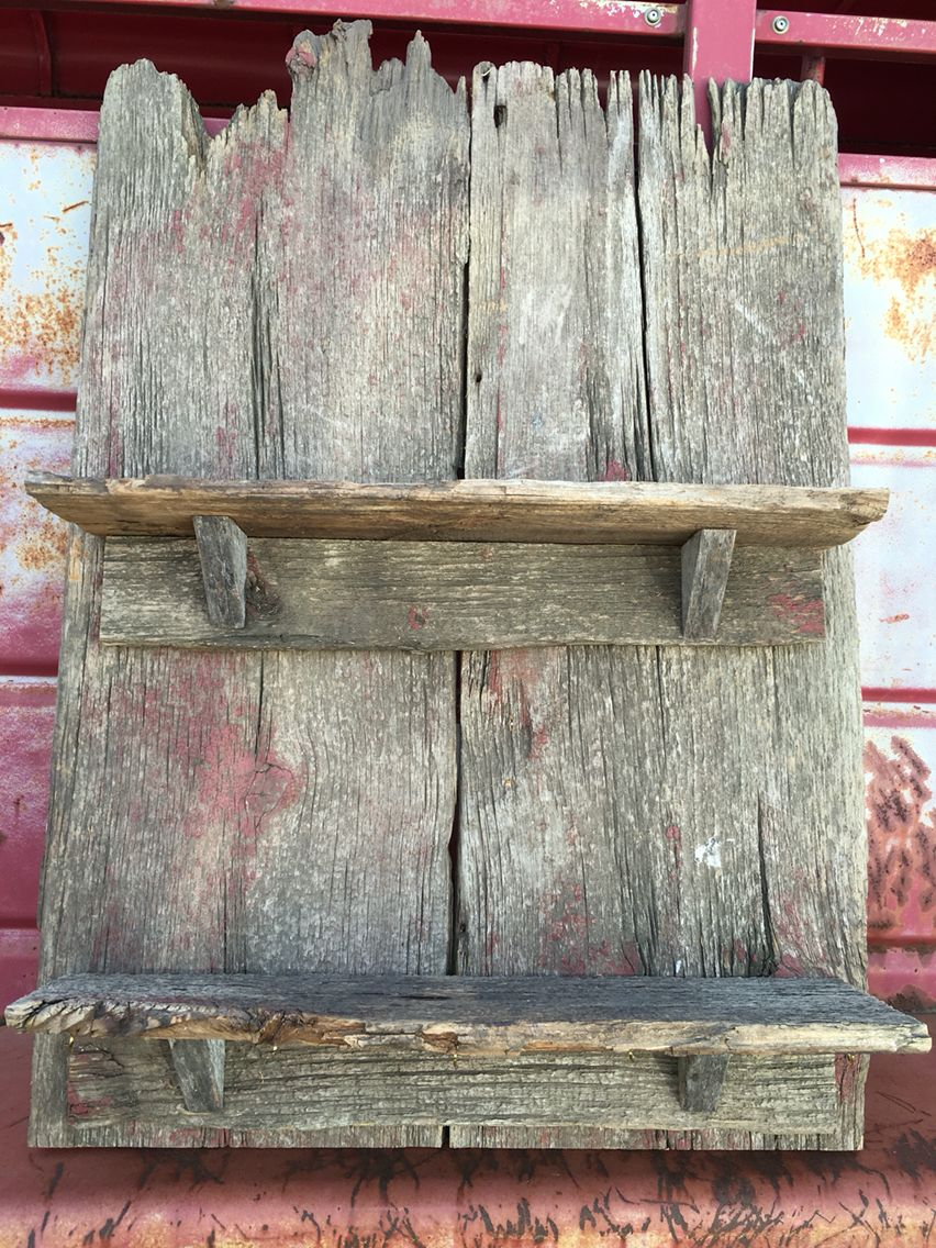 1890s Recycle Barnwood Shelves By Katie Barn Wood Frames Old Barn Wood Barn Wood Crafts