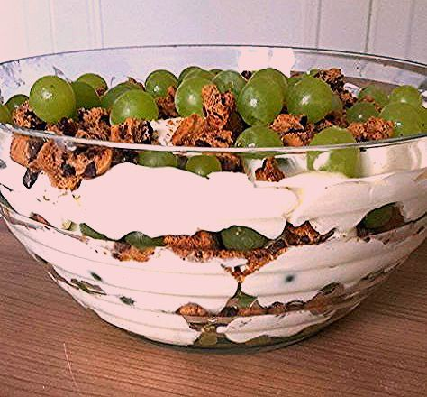 Photo of Trauben-Dessert zum direkt verputzen oder mitbringen » Küchensachen
