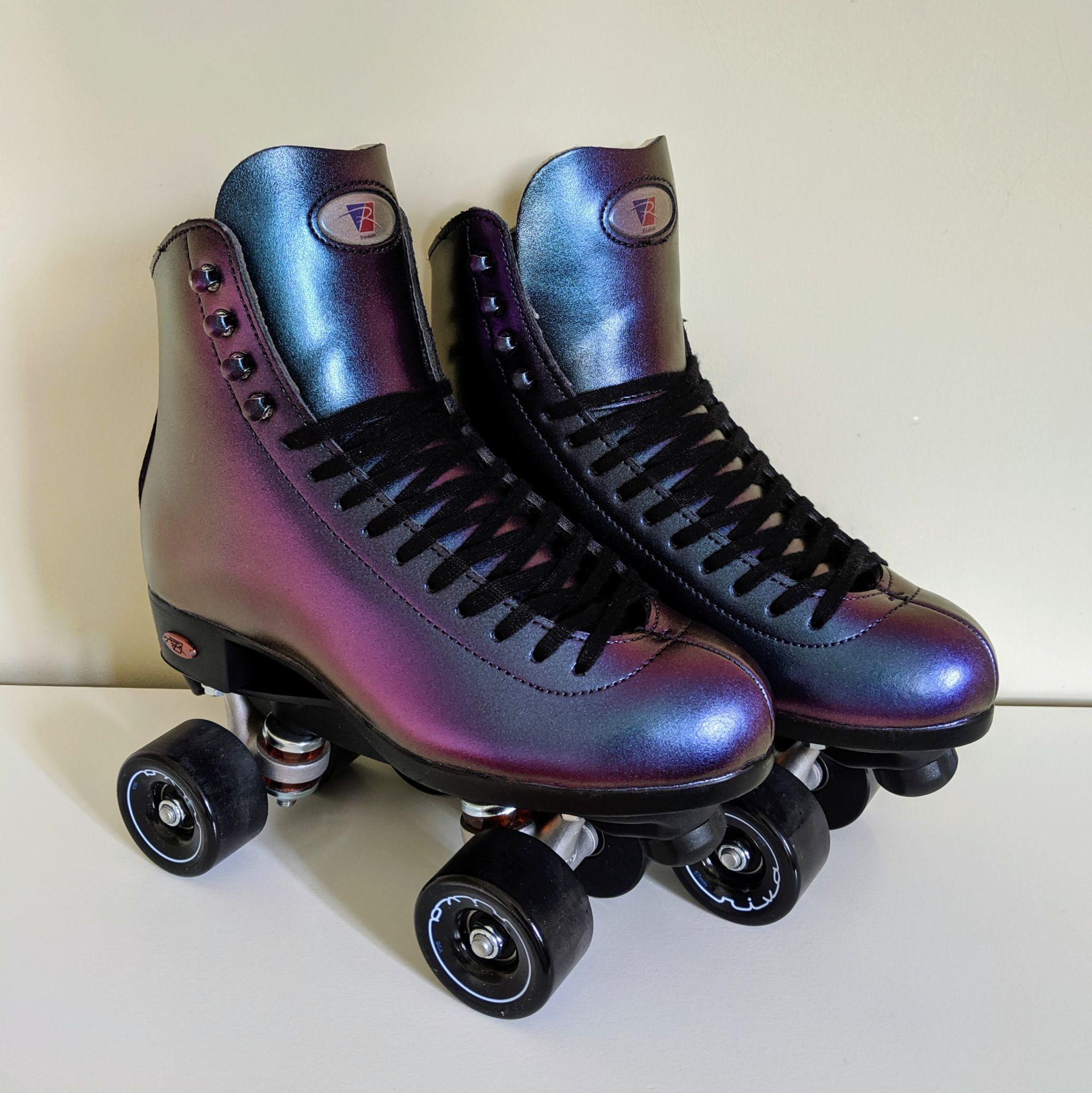 How To]: Oil Slick Roller Skate Boots